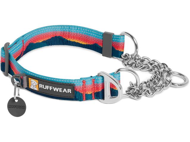 Ruffwear Chain Reaction Kraag, blauw/rood